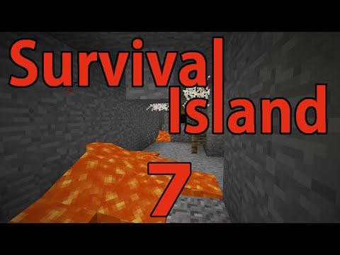 Minecraft- Survival Island [7] Ore Gathering!