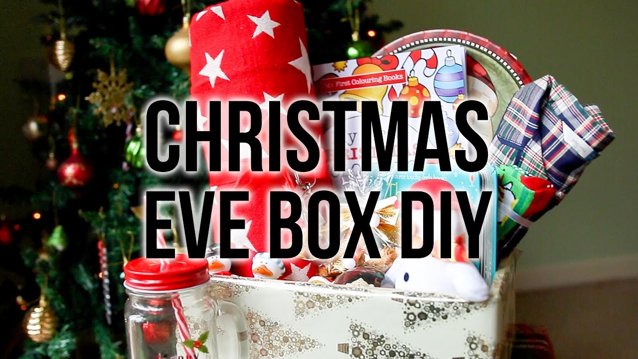 Diy Christmas Eve Box 2016 Last Minute Ideas For Toddlers Reeindeer Food Recipe Ysis Lorenna Youtube