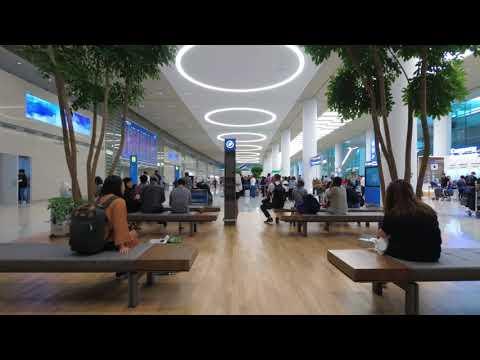[4K] 인천국제공항 제2여객터미널 - Walking around Incheon International Airport Terminal 2, Incheon, Korea