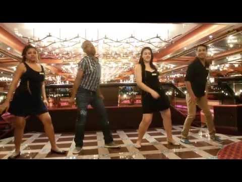 Dancing in Costa Pacifica 2015