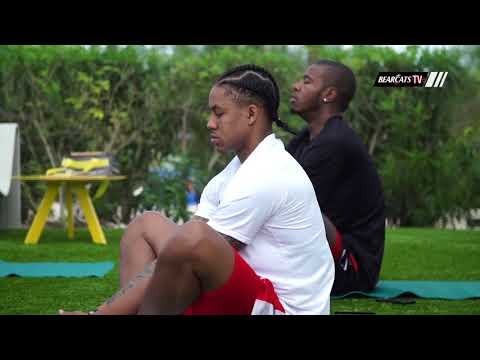 Cincinnati Bearcats Basketball in the Cayman Islands: Yoga Session