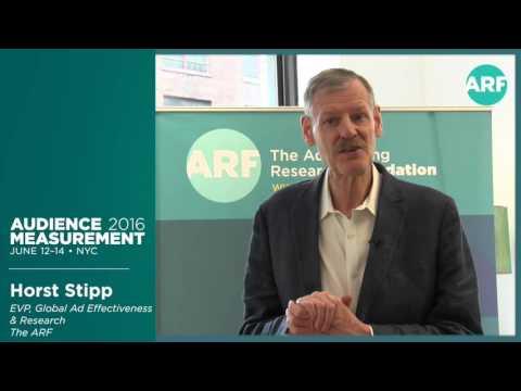 Audience Measurement 2016 Dr. Horst Stipp