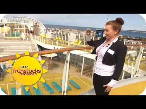 KAMPF Um Den JOB Auf Dem TRAUMSCHIFF | SAT.1 Frühstücksfernsehen | TV