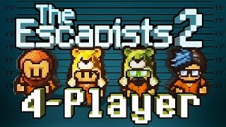 The Escapists 2: 4-Player - #1 - Shake