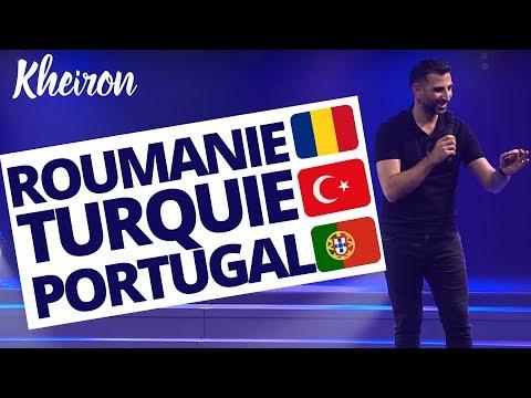 Roumanie, Turquie, Portugal - 60 minutes avec Kheiron