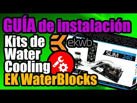 Instalamos el kit Slim de EKWB en una PC!!!! - Droga Digital