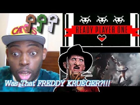 Thumbnail: SPIELBERG & FREDDY?!!! Ready Player One Comic-Con Trailer REACTION!!!
