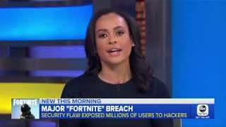 Fortnite Vulnerability Coverage on Good Morning America
