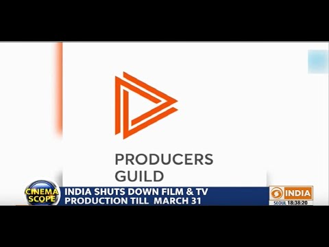 India shuts down film and TV production till March 31