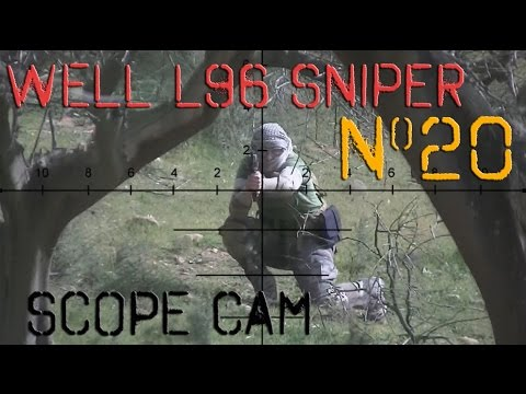 Airsoft Sniper Gameplay L96 Scope Cam Video20