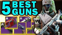 The 5 BEST WEAPONS from Season of the Worthy! | Destiny 2