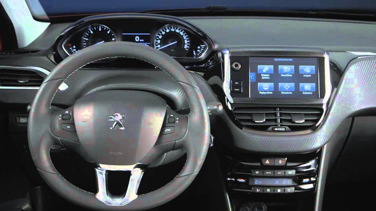 Geneva Auto Show 2015 - Peugeot 208 - Interior Design ...