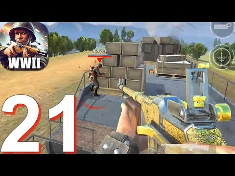 World War Heroes: WW2 Shooter - Gameplay Walkthrough Part 21 - New Update (Android, IOS)