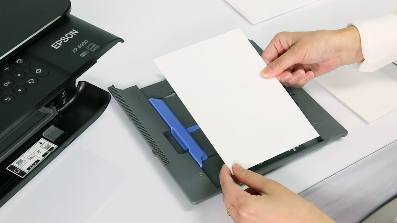 Epson Expression Premium XP-6000 | Paper Loading Tips and Tricks