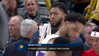 New Orleans Pelicans vs Indiana Pacers : February 22, 2019