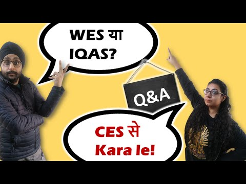 Should I Go With WES Or CES? Top Questions For ECA Canada Immigration 🇨🇦