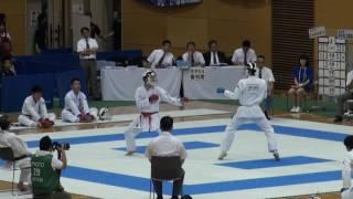 29日 空手道 男子団体組手 T4 4 東北学院vs県立松江南 1回戦