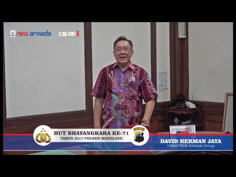 HUT Bhayangkara KE 71 TH BP David Herman Jaya
