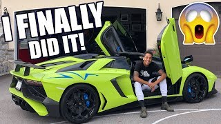 MY FIRST LAMBORGHINI SV ROADSTER DRIVE AT THE AGE OF 29!!