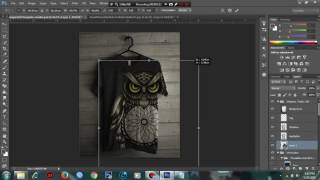 Cara Desaain Baju Menggunakan Photoshop CS6