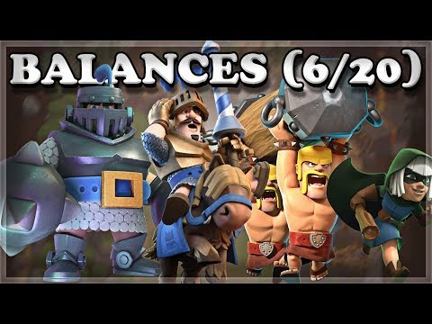 Balance Update 620  DashChargeJump Changes  Clash Royale 🍊