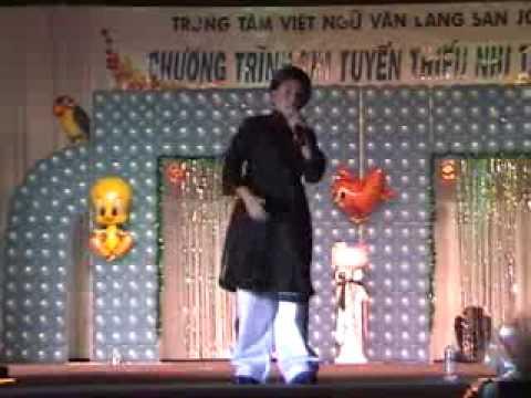 Ong Tấn Hoàng thiếu nhi tài sắc-Trường làng tôi 2002