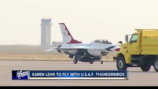 Karen Lehr to take flight with the Air Force Thunderbirds