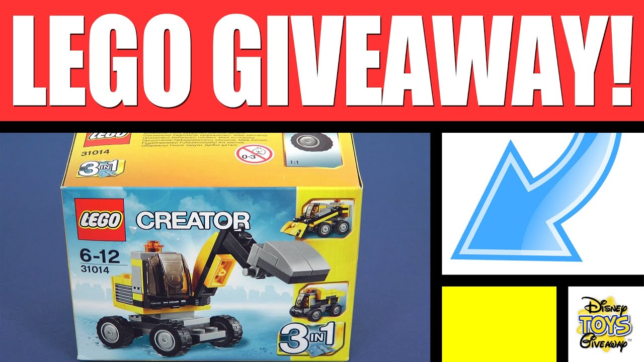 Legos For Free Free Stuff Lego Giveaway Contest 19 Open Lego Sets Lego