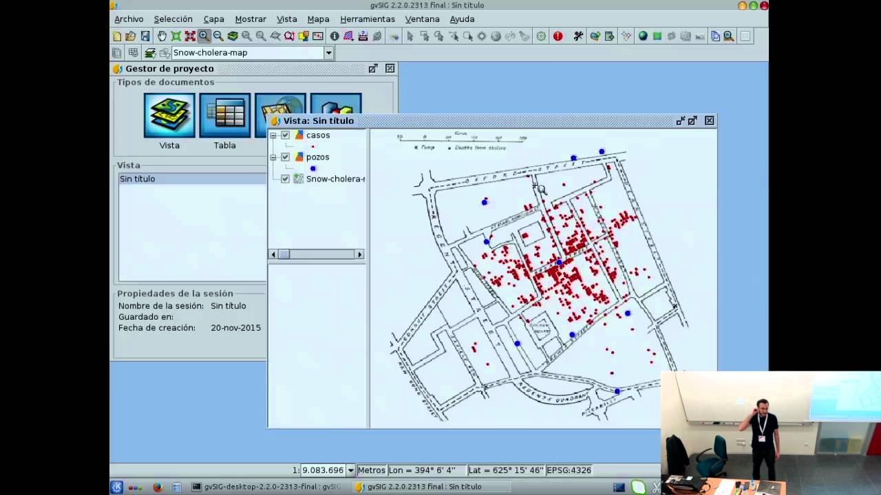 Image from Python en gvSIG, el Sistema de Información Geográfica Libre