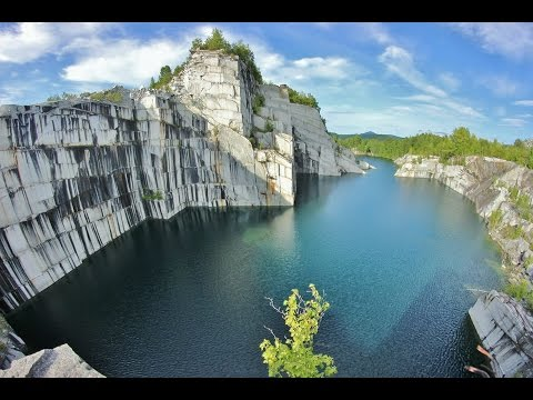 Vermont Cliff Jumping 110 Foot Cliff Jump Youtube