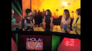 Nadine Velazquez on Guest on HOLA! LA
