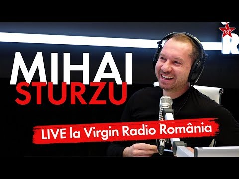 Mihai Sturzu, pilot de avion - LIVE @ Virgin Radio Romania