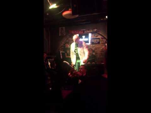 Олег Ломовой - концерт в баре Дабл Бурбон Стрит