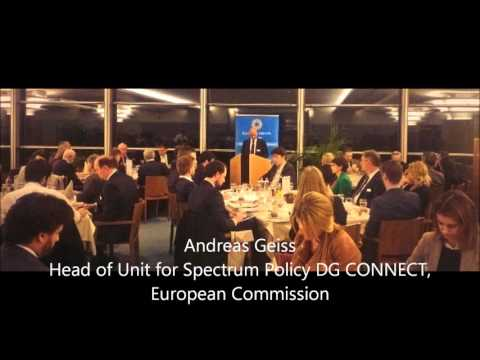 Andreas Geiss DG CONNECT on the EU spectrum policy