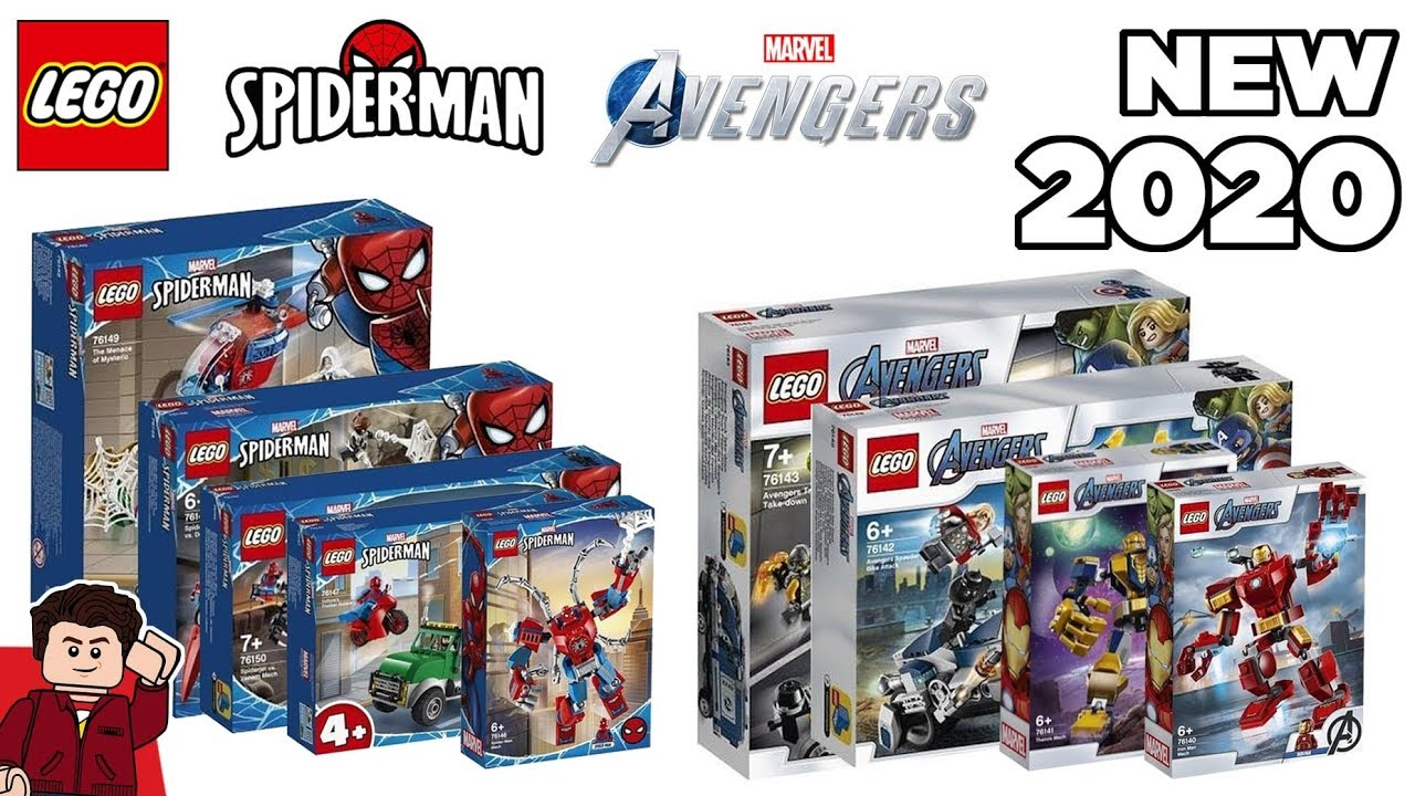 New Lego Sets 2020.Lego Marvel Avengers Spider Man 2020 Sets Revealed