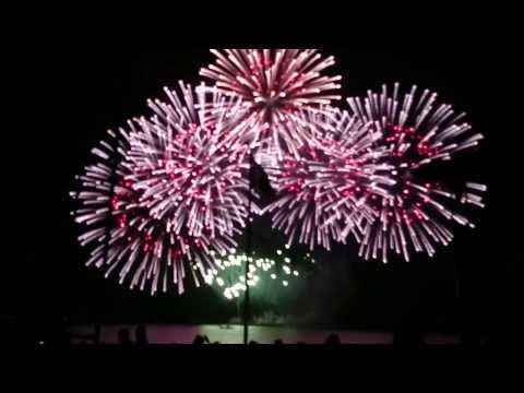 Fire works competition China's at Manila