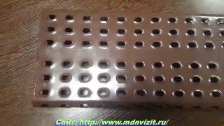 видео металлические ступени для лестниц