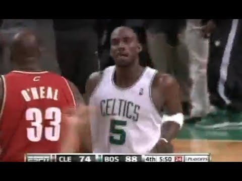 NBA 2010 Playoffs- Cleveland Vs Boston- 4th Quarter Game 6