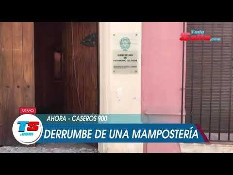 DERRUMBE DE UNA MAMPOSTERÍA
