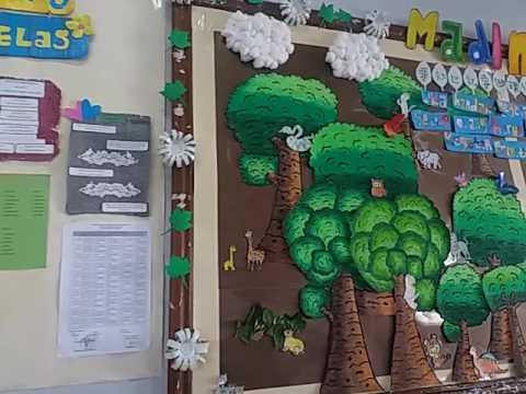 15+ inspirasi menghias kelas tema natal, dekorasi kelas