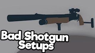 Bad Phantom Forces Setups: Shotgun Edition (Roblox)