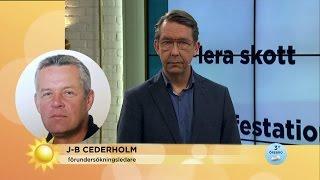 """""""Inga misstänkta för mordet på Ahmed"""" - Nyhetsmorgon (TV4)"""