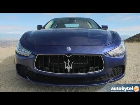 2014 Maserati Ghibli Car Video Review and Road Test
