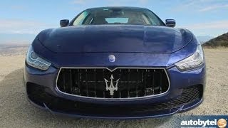 2014 Maserati Ghibli Car Video Review and Road Test