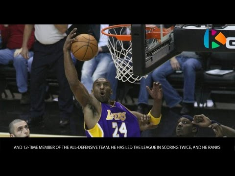 Kobe Bryant - Bios of NBA superstars - Wiki Videos by Kinedio
