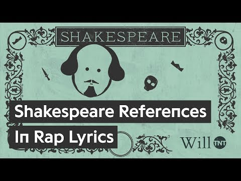 Shakespeare References in Rap Lyrics: An Animated History