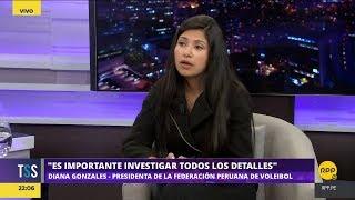 Todo Se Sabe│Presidenta de la FPV da detalles de la muerte de Alessandra Chocano