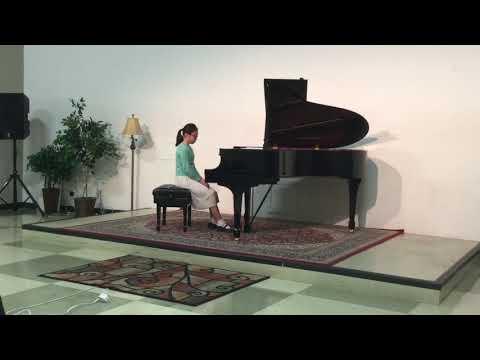 Sophia 지혜 Sim (11 years old) plays Chopin Nocturne op. 9 no 1/Haydn Sonata in F Major Hob. XVI 23