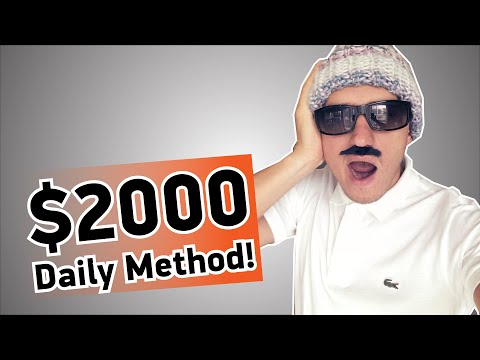 $2000 in 5 Minutes - My Binary Options strategy - Binary Options