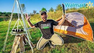 walmart-solo-camping-challenge-no-food-no-water